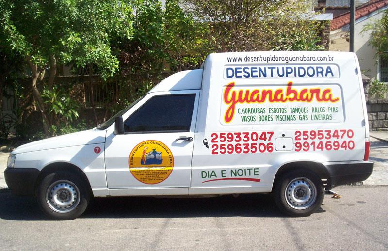 Fiorino Desentupidora Guanabara